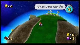 Super Mario galaxy episode 1 - Mario can breathe in space?