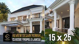 Video Mrs. Yuli Classic House 2 Floors Design - Tangerang, Banten