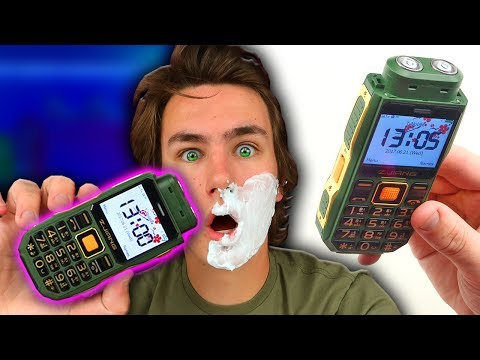 The $34 Shaver Phone