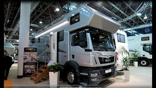 Mercedes Benz Unimog U4023 4x4 Expedition Camper Ziegler