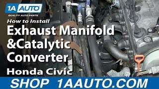 Replace Exhaust Manifold
