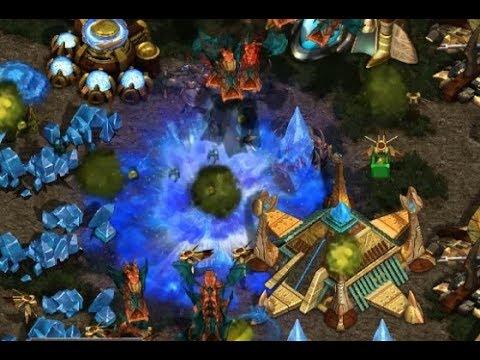 EPIC - P - sAviOr (Z) v Sky (P) on Fighting Spirit - StarCraft  - Brood War REMASTERED
