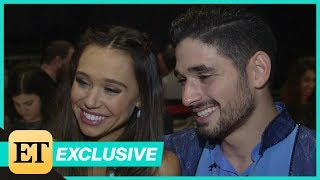 DWTS: Alexis Ren and Alan Bersten Address Romance Rumors! (Exclusive)