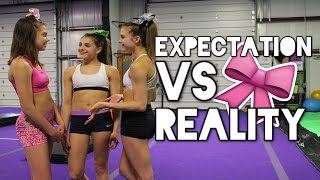 Cheer Expectation vs Reality
