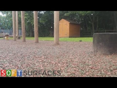 Rubber Mulch Trim Trail Installation in Nottingham, Nottinghamshire   Rubber Mulch Surfacing
