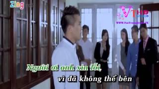 Xin Loi Nguoi Anh Yeu Karaoke tone nu