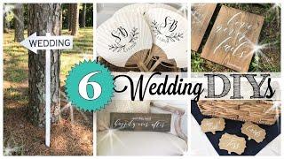 6 DIY Wedding Decor | I SAVED HUNDREDS $$  | Wedding On A Budget