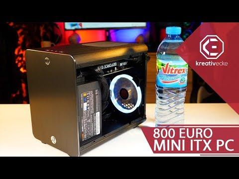 800 Euro MINI ITX GAMING PC - Test und Zusammenbau. Viel Leistung in ganz klein!