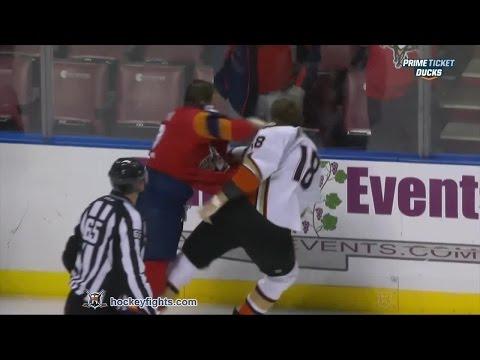 Tim Jackman vs Shawn Thornton