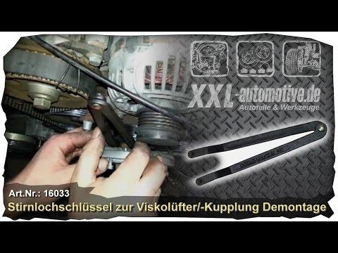 Viskolüfter demotieren, Visko-Kupplung am Lüfter lösen +++ How to
