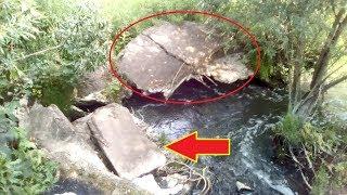 Что прикрыли плитами в реках?