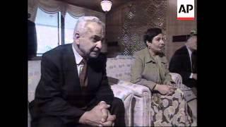 SYRIA: PALESTINIAN LEADER YASSER ARAFAT MEETS PRESIDENT ASSAD