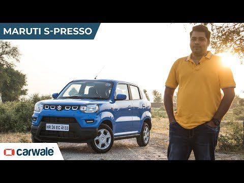 Maruti Suzuki S Presso | Can Quirky Be The New Cool?🔥🔥 | CarWale