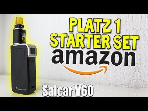 BESTSELLER AMAZON E-ZIGARETTE STARTER SET | Salcar V60 | #VapeDay