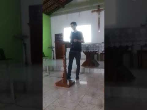 Formação de pregadores com Adriano José em Bragança do Pará