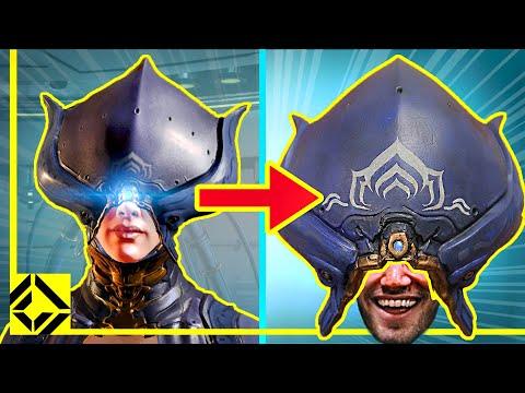 We Built The Lotus Helmet From WARFRAME