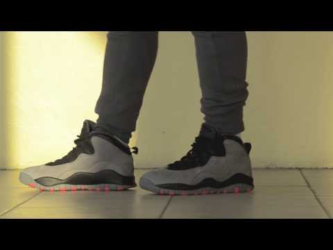 04f734bba1697a Download 2014 Air Jordan 10 Cool Grey Infrared Review + On Feet MP3