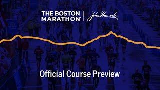 Boston Marathon | Official Course Preview