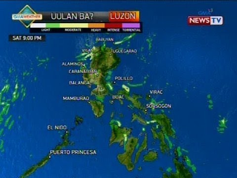 [GMA]  Weather update as of 9:50 a.m. (June 23, 2018)