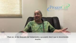 Knee & Anti Aging Patient Testimonial (English w/ Spanish Subtitles)