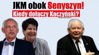MÓJ KANAŁ POLECAM VIDEO ! JKM obok Senyszyn! Kiedy dołączy Kaczyński?