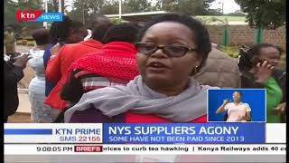 Over 200 suppliers protest at NYS Headquarters over non-payment claims