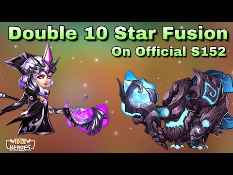 Idle Heroes - Double 10 Star Fusion! Blood Blade and Kroos 10 Star