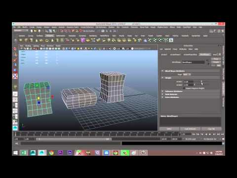 Maya tutorial: Animate objects using Blend Shape