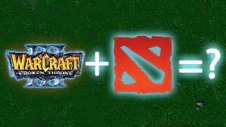 Что если скрестить Warcraft 3 и Dota 2?