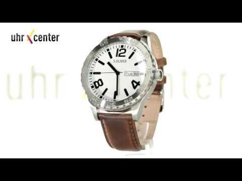 s.Oliver SO-2632-LQ Herren-Armbanduhr