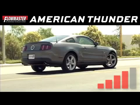 2005-10 Ford Mustang GT 4.6L, GT500 5.4L - American Thunder Axle-back Exhaust System