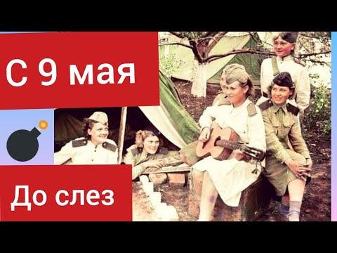 До слез. Трогательное поздравление с 9 мая. Цените мир.  Смогла бы я пойти на войну?