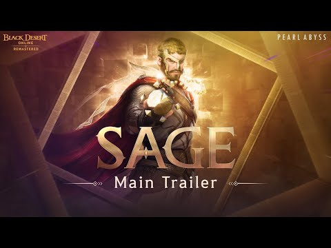 Black Desert's Sage Class Coming To PC On March 17th, Consoles March 31st