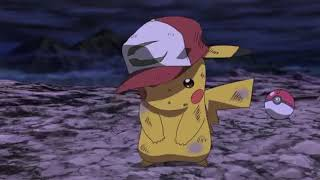 Pikachu Cries Over Ash's Death