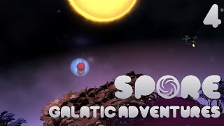 Spore! Galactic Adventures #4 - Abductions! Epics! Run!!