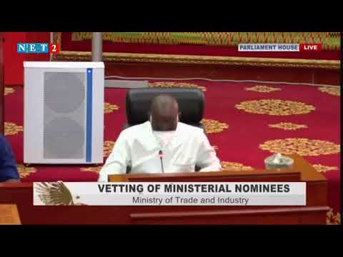 VETTING OF MINISTERIAL NOMINEES: ALAN KYEREMANTENG  (FEB 26,2020)