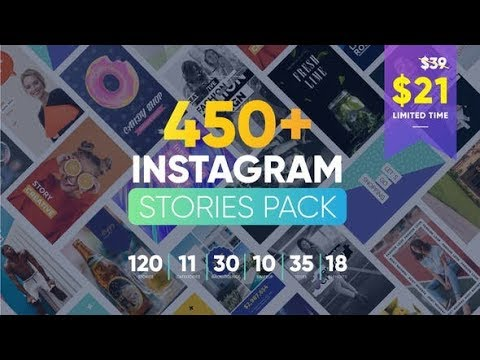 INSTAGRAM STORIES AFTER EFFECTS TEMPLATE FREE DOWNLOAD