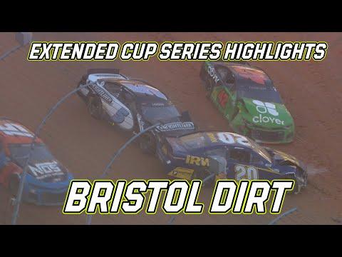 NASCAR フォード シティダートレース (ブリストル・モーター・スピードウェイ)ハイライト動画