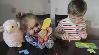 Детское рукоделие  Делаем с детьми своими руками  Аппликация Божья Коровка