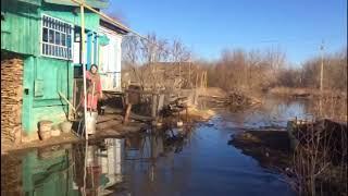 Паводок.Республика Мордовия.с.Троицк.р.Мокша.