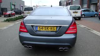 MERCEDES S500 W221 AMG SOUN EXHAUST SYSTEEM SPORTUITLAAT UITLAAT BY MAXI PERFORMANCE