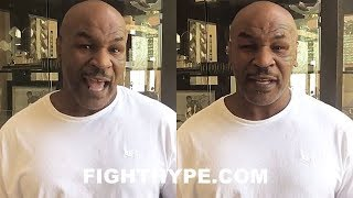 MIKE TYSON REACTS TO PACQUIAO KNOCKING OUT MATTHYSSE; DECLARES