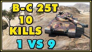 World of Tanks   BatChat 25t - 10 Kills - 7.5K Damage