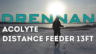 Фидерное удилище drennan acolyte distance feeder 13 ft - 100 g