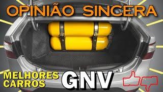 Melhores carros para usar GNV - espaço interno, porta malas, consumo, melhor custo benefício