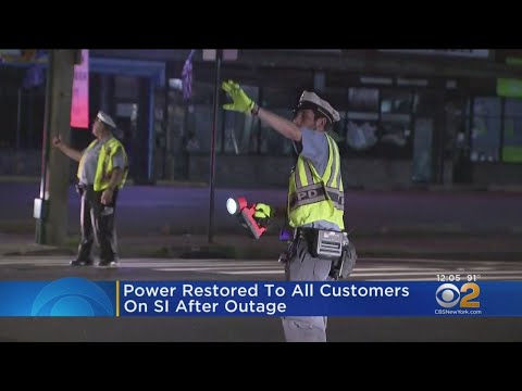 Power Restored To All Customers On Staten Island After Outage