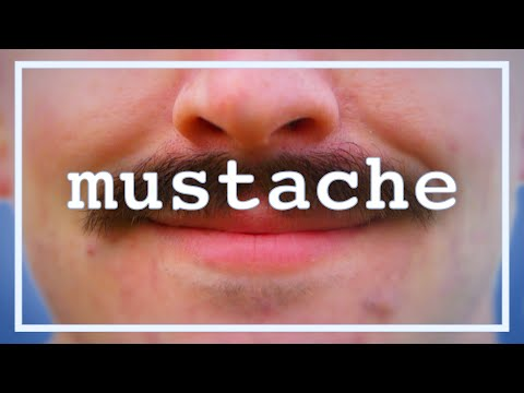 how to talk to guys with mustaches
