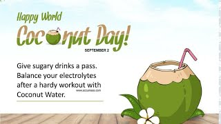 World Coconut day status 2020🥥September 2🥥World Coconut day WhatsAppStatus - Download this Video in MP3, M4A, WEBM, MP4, 3GP
