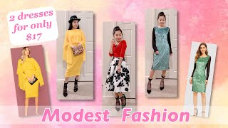 SKIRTS & DRESSES | Apostolic Clothing & Shein Try-on Haul | Modest Fashion | MODEST OUTFIT IDEAS