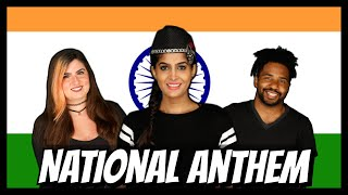 Foreigners Sing The Indian National Anthem for the First Time | Rickshawali